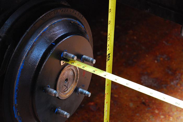 Wheel Backspacing