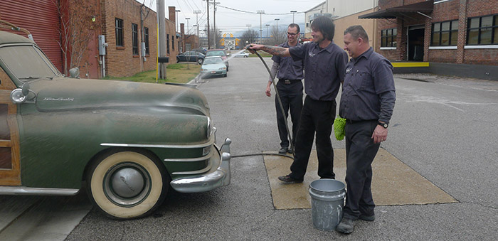 1947 Chrysler Town & Country Barn Find