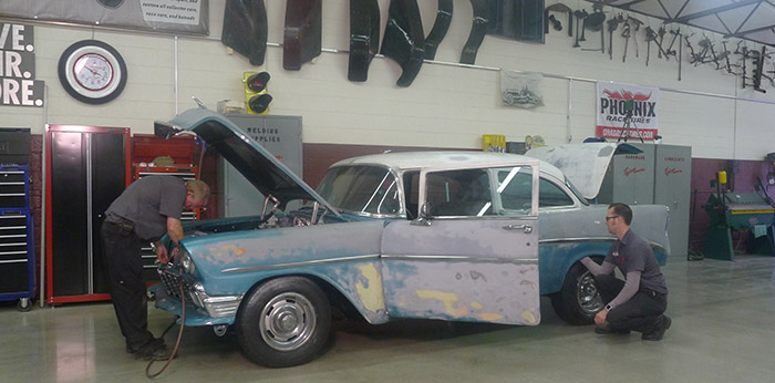 1956 Chevy 210 on Backroad Gold TV Show