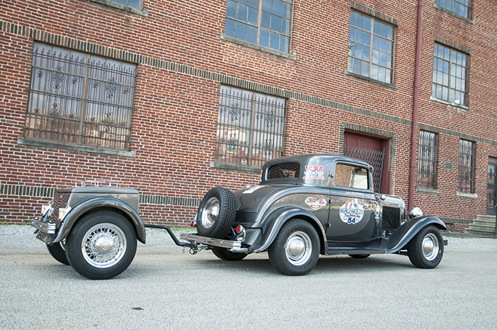Clay Miller 1932 Ford Three Window Coupe by Honest Charley