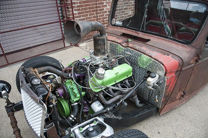 Rat Rod Truck at Honest Charley