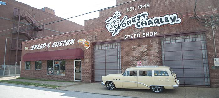 Hot Rod Buick Station Wagon