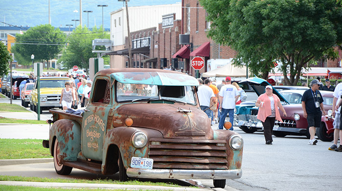 Hot Rod Power Tour 2013 Chattanooga Stop