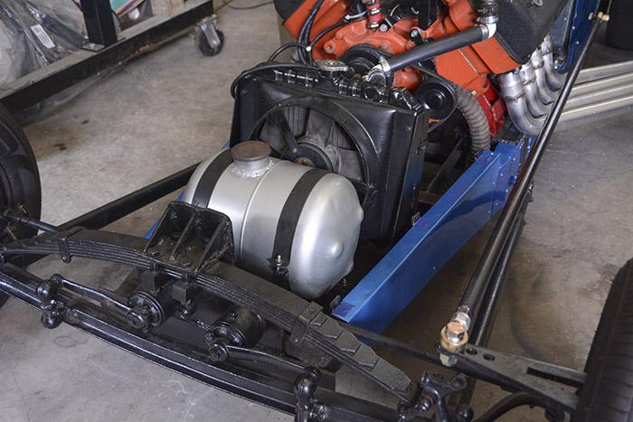 Vintage front engine dragster