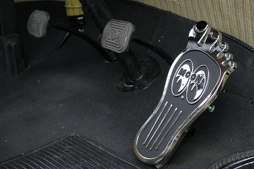 Moon Foot Pedal | Large-10873