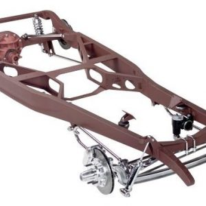 1928-31 Chrome/Stainless Steel Complete Hi-Boy Chassis Package-0