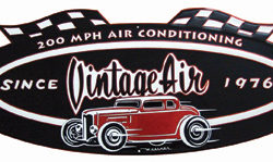 Vintage Air Anniversary logo Sign-0