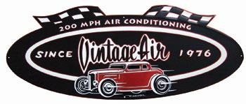 Vintage Air Anniversary logo Sign-0