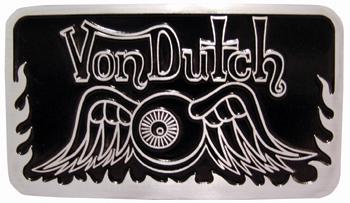 Von Dutch Club Plaque-0
