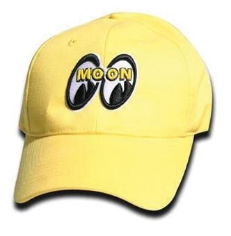 Mooneyes logo | Yellow-0