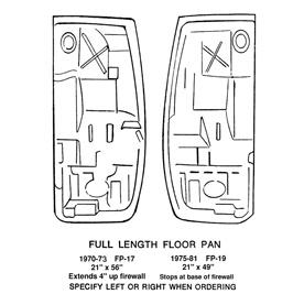 Floor   Full Length Floor Pan   Passenger Side-0