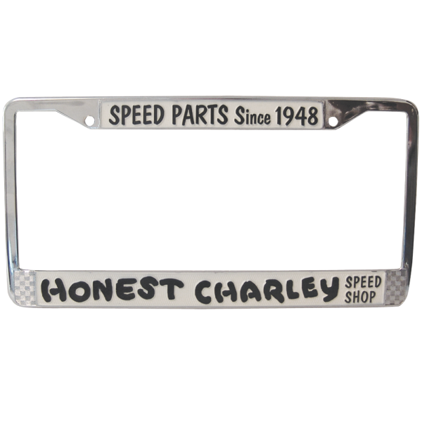 """Honest Charley Tag Frame """"Speed Parts Since 1948""""-0"""