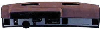 Velour/Carpet Dash Cover with A/C | 1978-80 El Camino | Malibu | & Monte Carlo-0