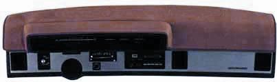 Velour/Carpet Dash Cover without A/C 03360A | 1981 El Camino | Malibu & Monte Carlo-0
