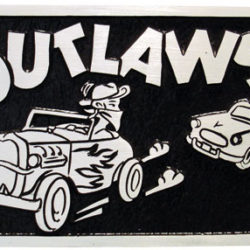 Outlaws Club Plaque-0