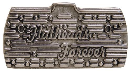 FlatHeads Forever Belt Buckle-0