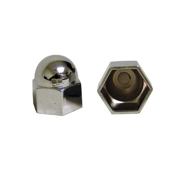 Acorn Nut Covers | Intake | Chrome-0
