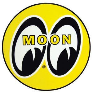 "Moon Decal | 12""-0"