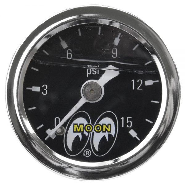 Mooneyes® Liquid-filled Fuel Pressure Gauge-0
