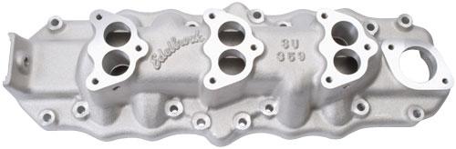 Edelbrock® Three Deuce Manifold 1938-48 Ford 1108-4500