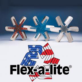 Flexalite Mechanical Flex Fan | 19 inch 1309 | Red-0