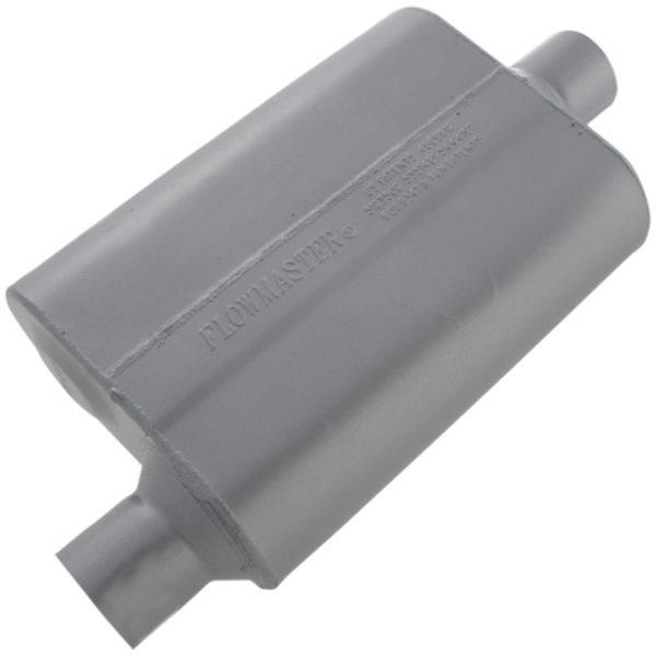 Flowmaster® 40 Series Muffler 2.50 Offset IN / 2.50 Center OUT-0