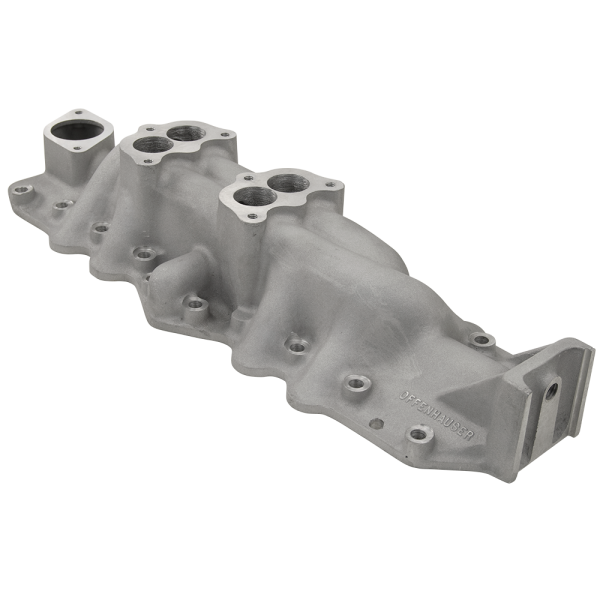 Offenhauser® Dual Two-Barrel Aluminum Intake Manifold For 1932-48 Ford Flathead-0