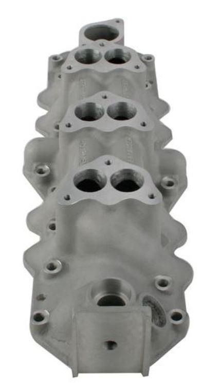 Offenhauser® Three Deuce Intake Manifold 1949-53 Ford 1077-10792