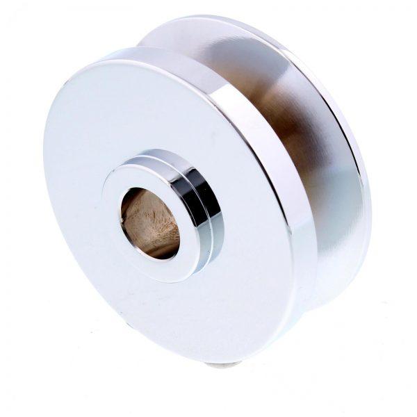 "Pulley | 5/8"" Belt | Chrome-0"