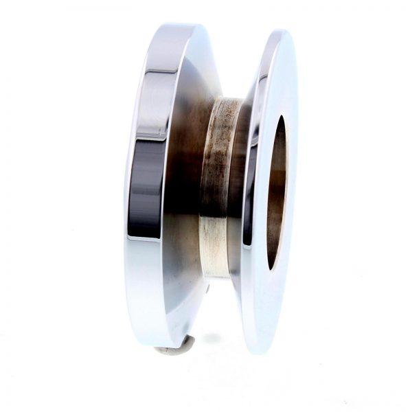 "Pulley | 5/8"" Belt | Chrome-10845"