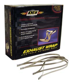 "Exhaust/Header Wrap | 1"" Wide | Beige-0"