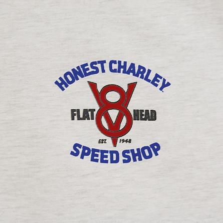 Flathead Speed Shop T-Shirt | Ash | Small-5116