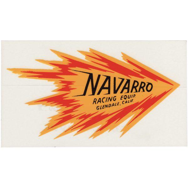 Decal Navarro Racing Equipment-0