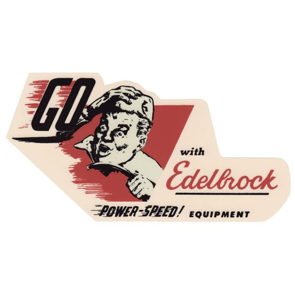 Decal Edelbrock Power Speed Equipment-0