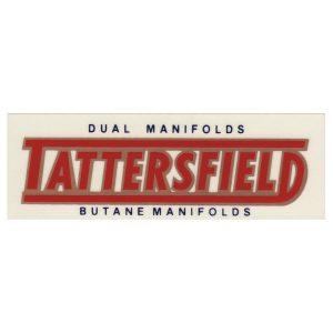 Decal TATTERSFIELD Butane Dual-0