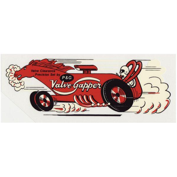 Decal P&G Valve-Gapper-0