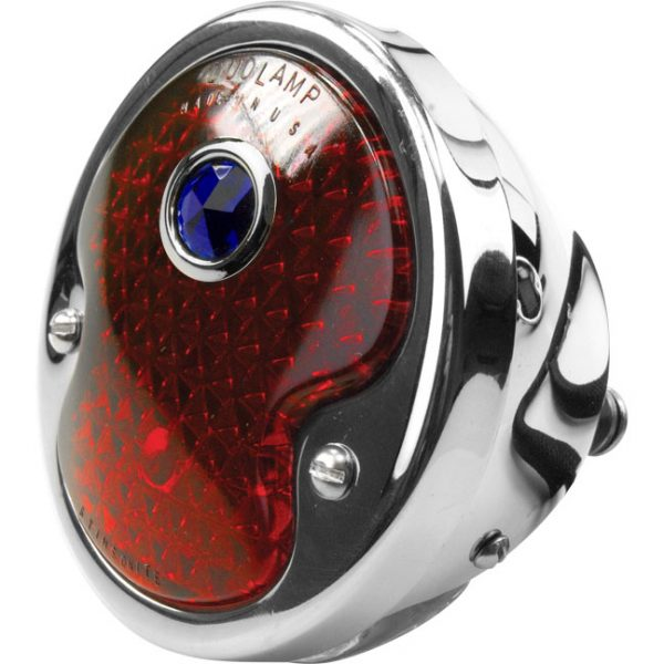Taillight | 1932 Ford Driver Side Blue DOT-0