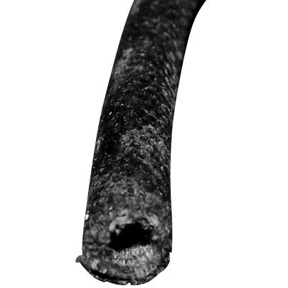 Wire Loom | 7/16 ID 25FT Black-0