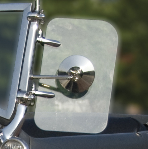 Wind Wing Mirror | Polished Stainless-0