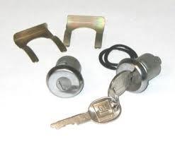 Cylinder Door Lock El Camino, Malibu, Monte Carlo-0