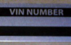 VIN Number Letter Stamp Set-0