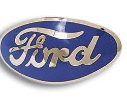 Emblem | Bull Nose | Red | 1932 Ford | For Bob Drake Ornament -0