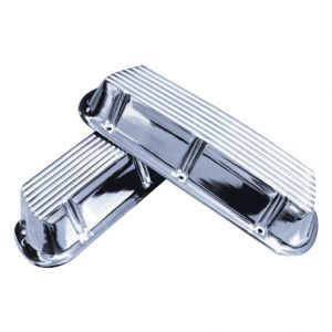 Valve Cover SBF Polished   Ford 221   302 Small Block-0