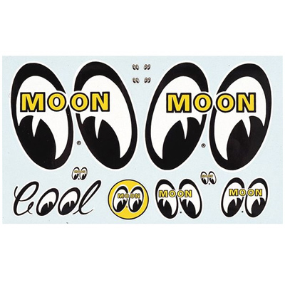 Decal Stick on Moon Assorted-0
