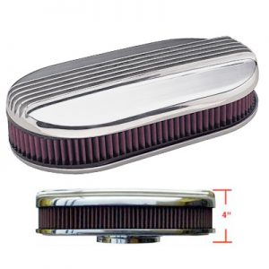 Air Cleaner Finned Oval 9X15-0