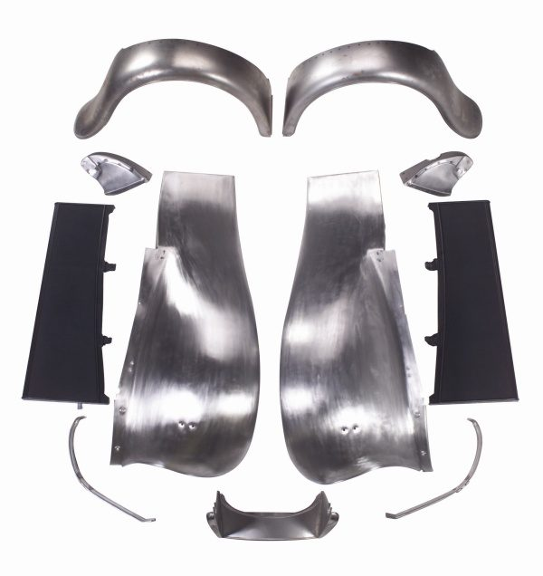 Fender Kit Front & Rear with Smooth Running Boards | 1932-0