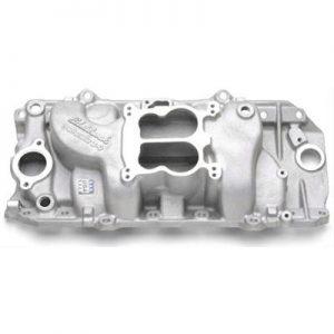 Edelbrock 2161   Performer Intake Manifold Big Block Chevy   396-454 cubic inch-0