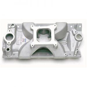 Edelbrock 2975   Victor Jr. Intake Manifold   Small Block Chevy-0