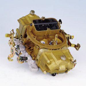 Holley 600cfm Four Barrel Carburetor with Manual Choke-0