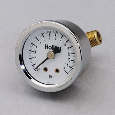 Holley Analog Fuel Pressure Gauge-0